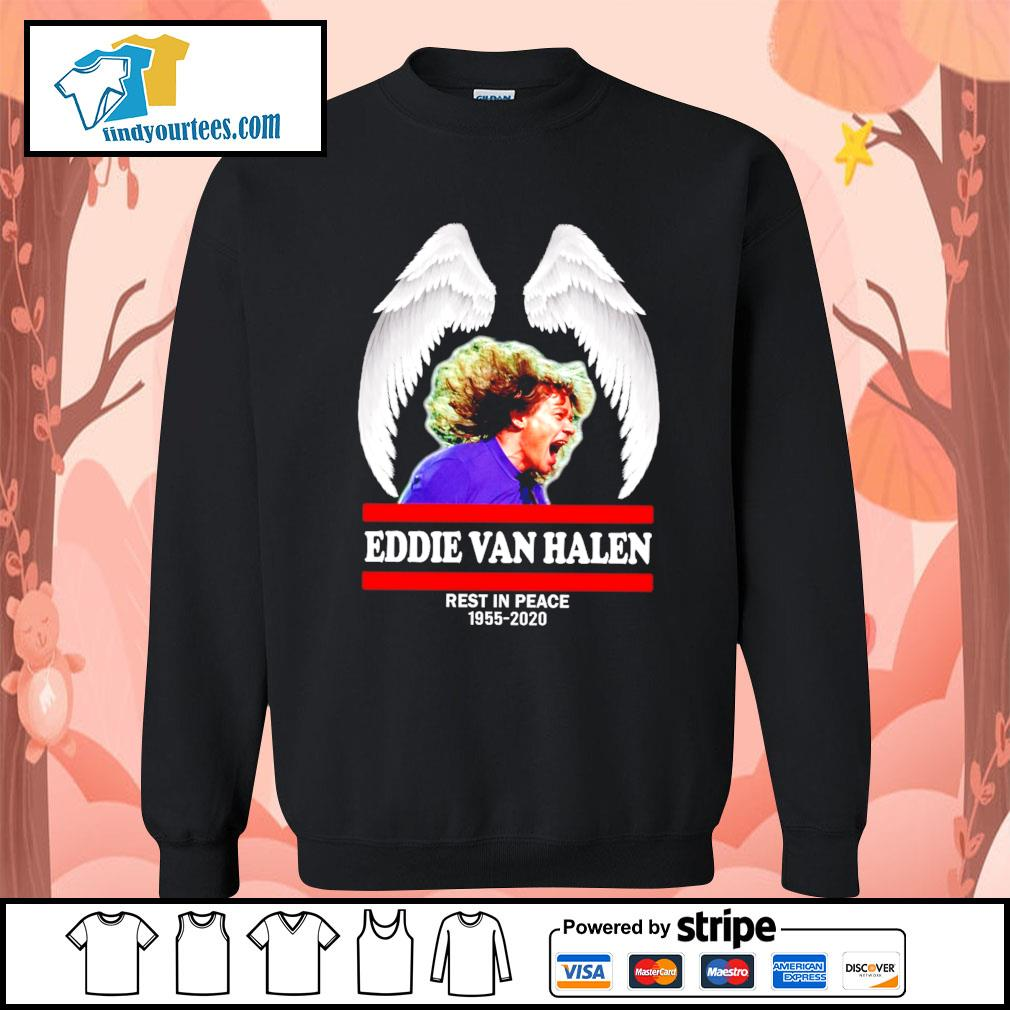 Eddie Van Halen rest in peace 1955 2020 s Sweater