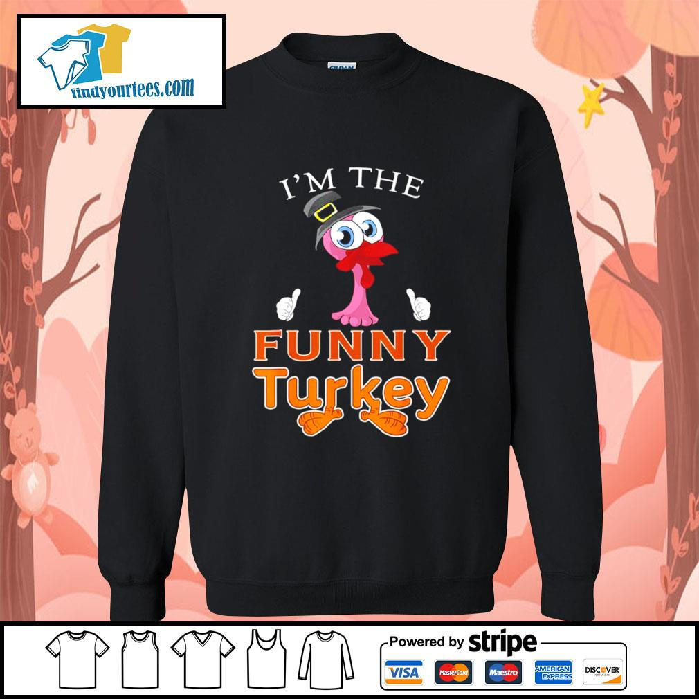 Flamingo I'm the funny Turkey s Sweater