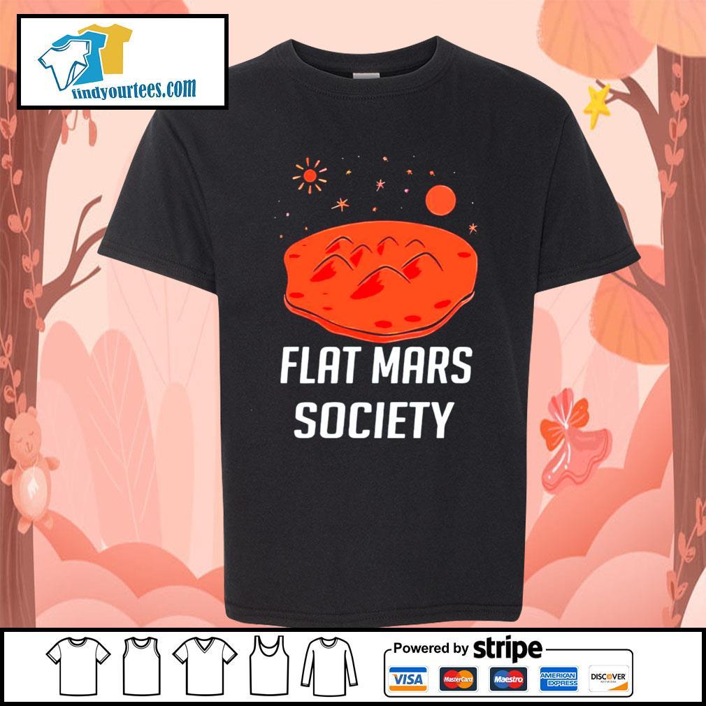 Flat mars society s Kid-T-shirt