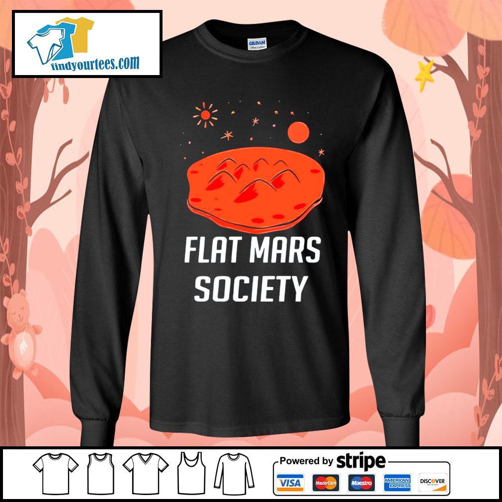 Flat mars society s Long-Sleeves-Tee