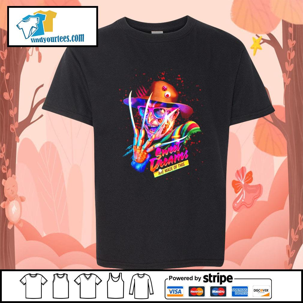 Freddy Krueger sweet dreams are made of this s Kid-T-shirt