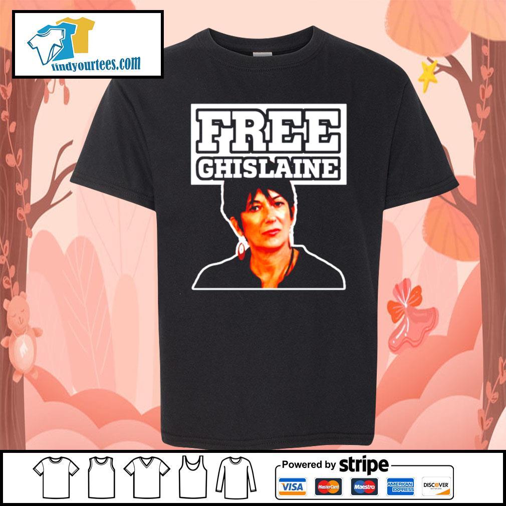 Free Ghislaine s Kid-T-shirt