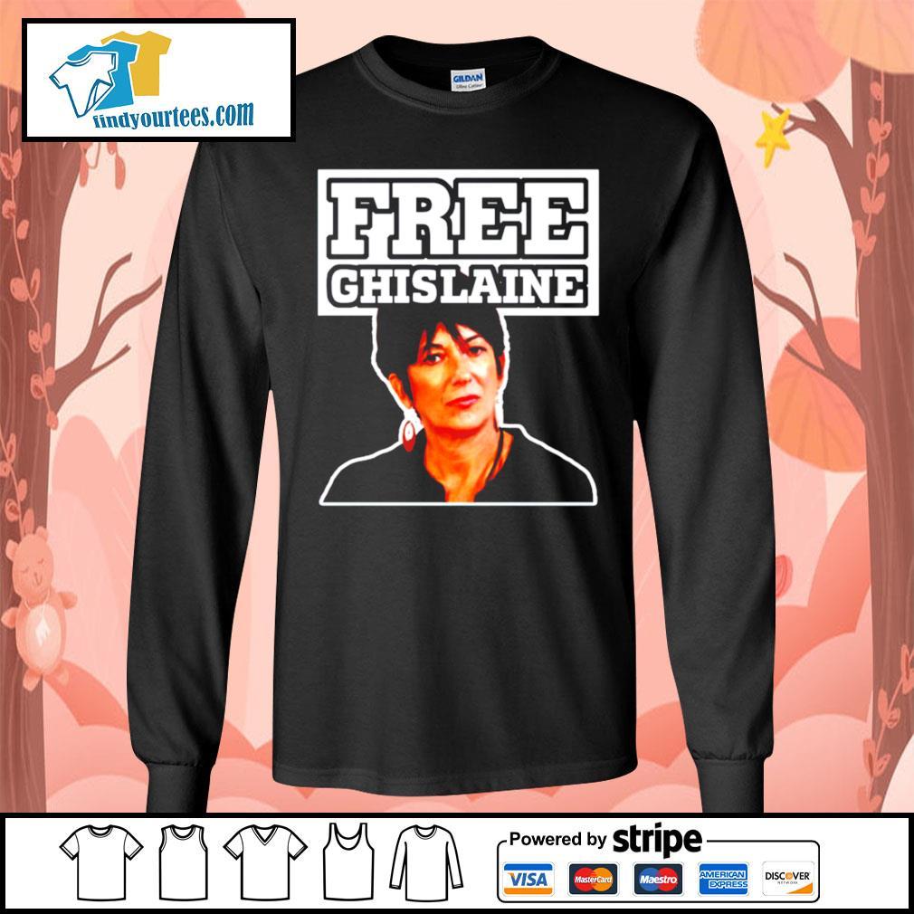 Free Ghislaine s Long-Sleeves-Tee