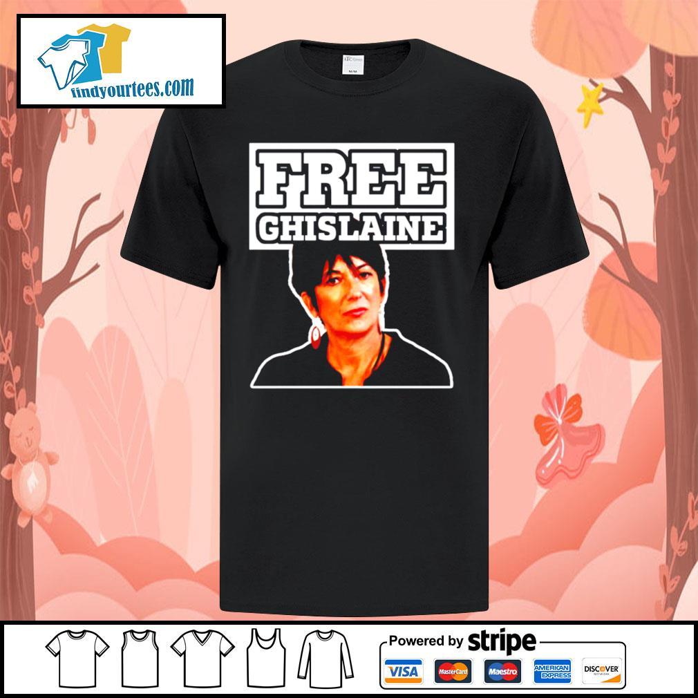 Free Ghislaine shirt