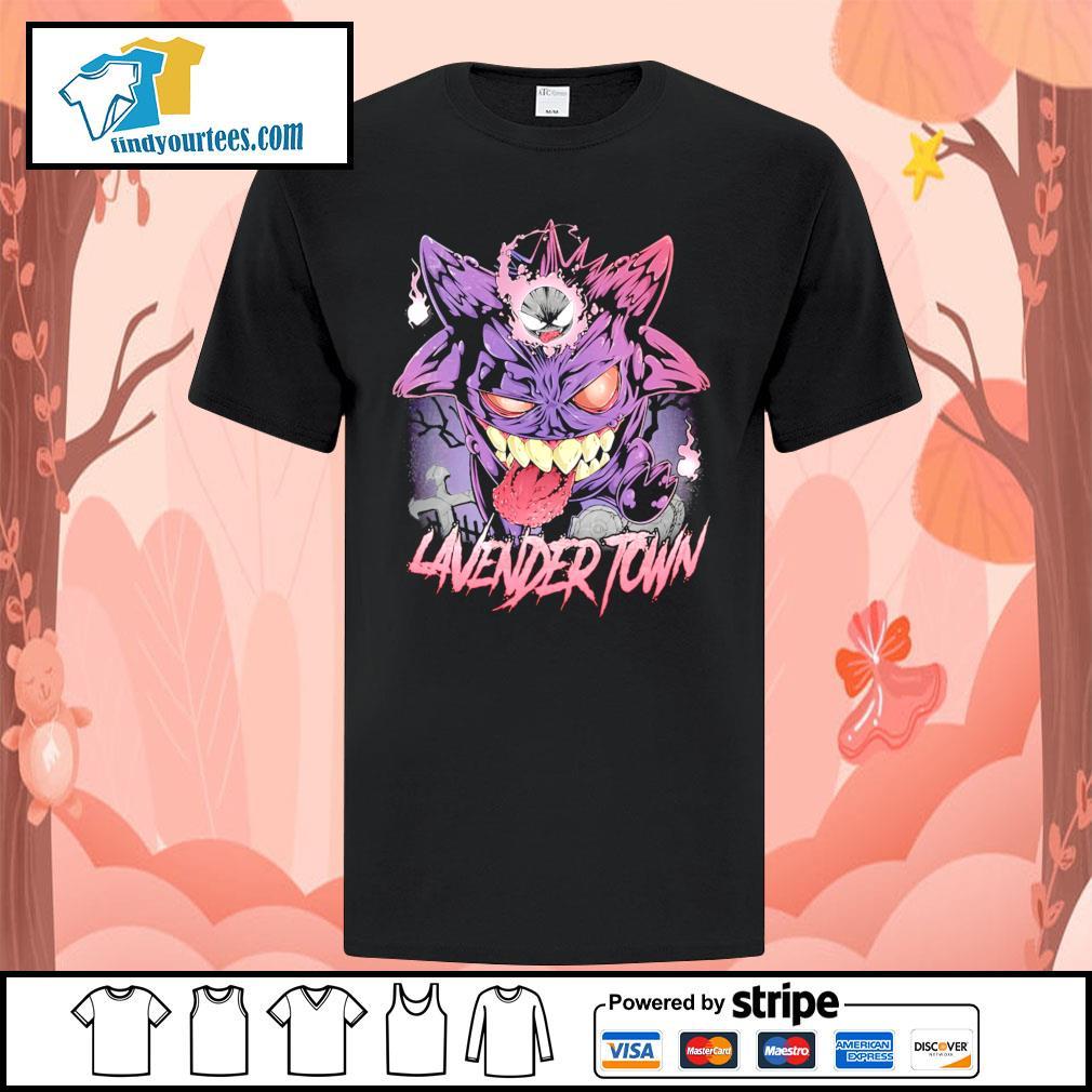 Gastly Haunter Gengar Lavender Town shirt