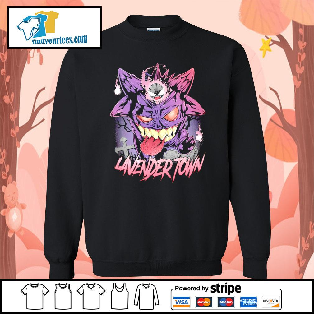 Gastly Haunter Gengar Lavender Town s Sweater