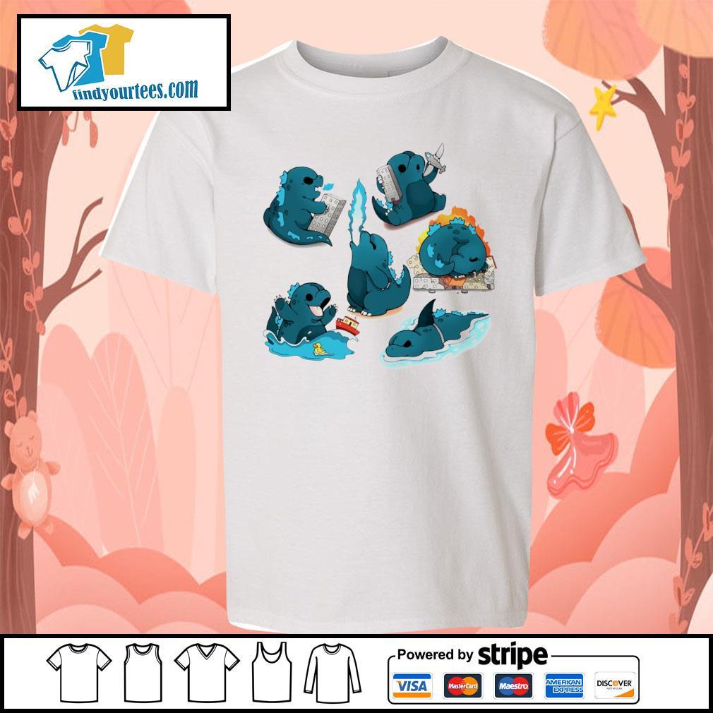 Godzilla Cute Monster s Kid-T-shirt