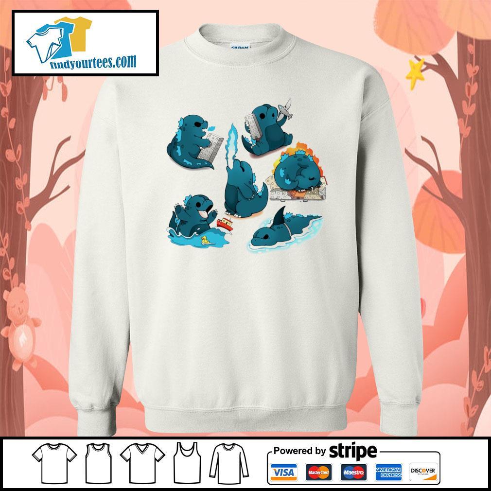 Godzilla Cute Monster s Sweater