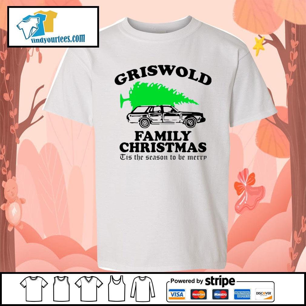 Griswold family Christmas Tis the season to be merry s Kid-T-shirt