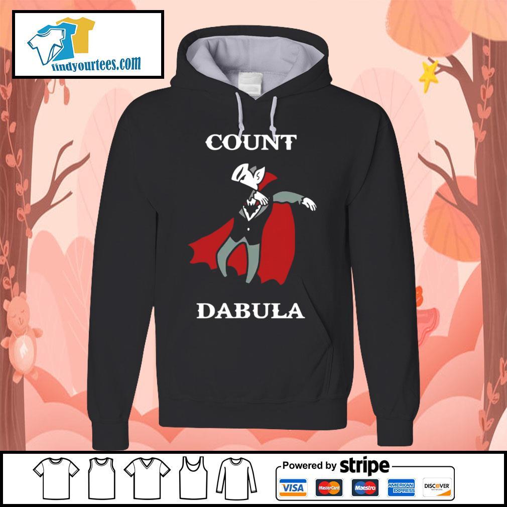 Halloween Count Dabula dabbing s Hoodie