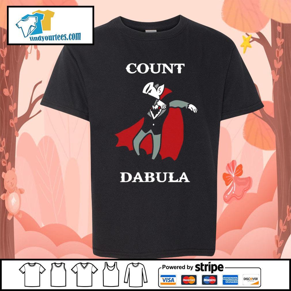 Halloween Count Dabula dabbing s Kid-T-shirt