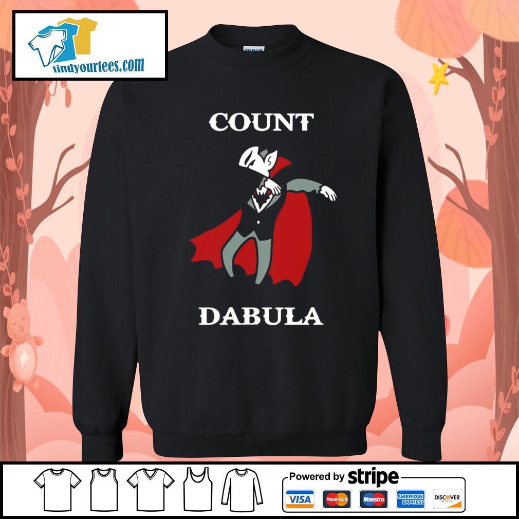 Halloween Count Dabula dabbing s Sweater