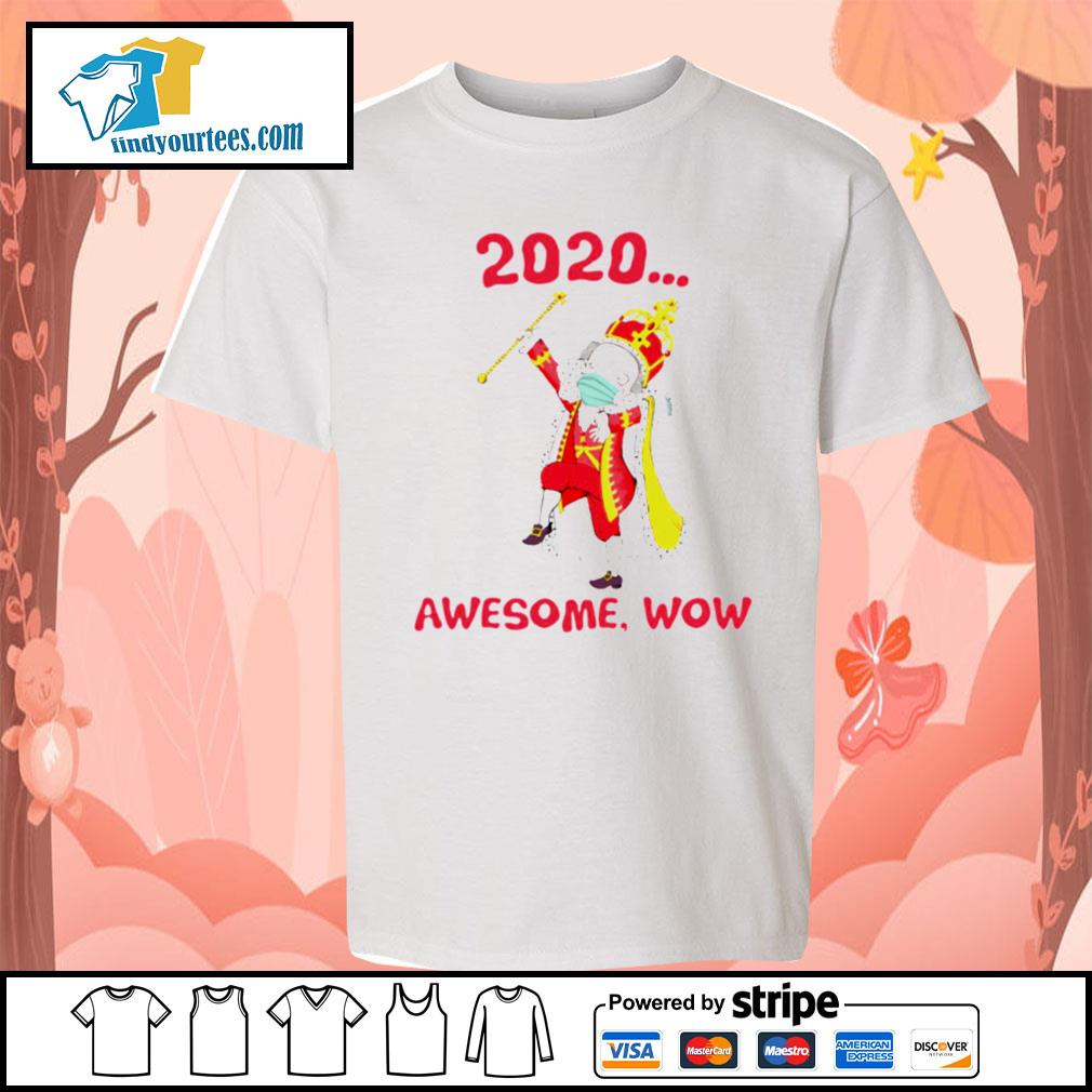 Hamilton George King 2020 awesome wow s Kid-T-shirt