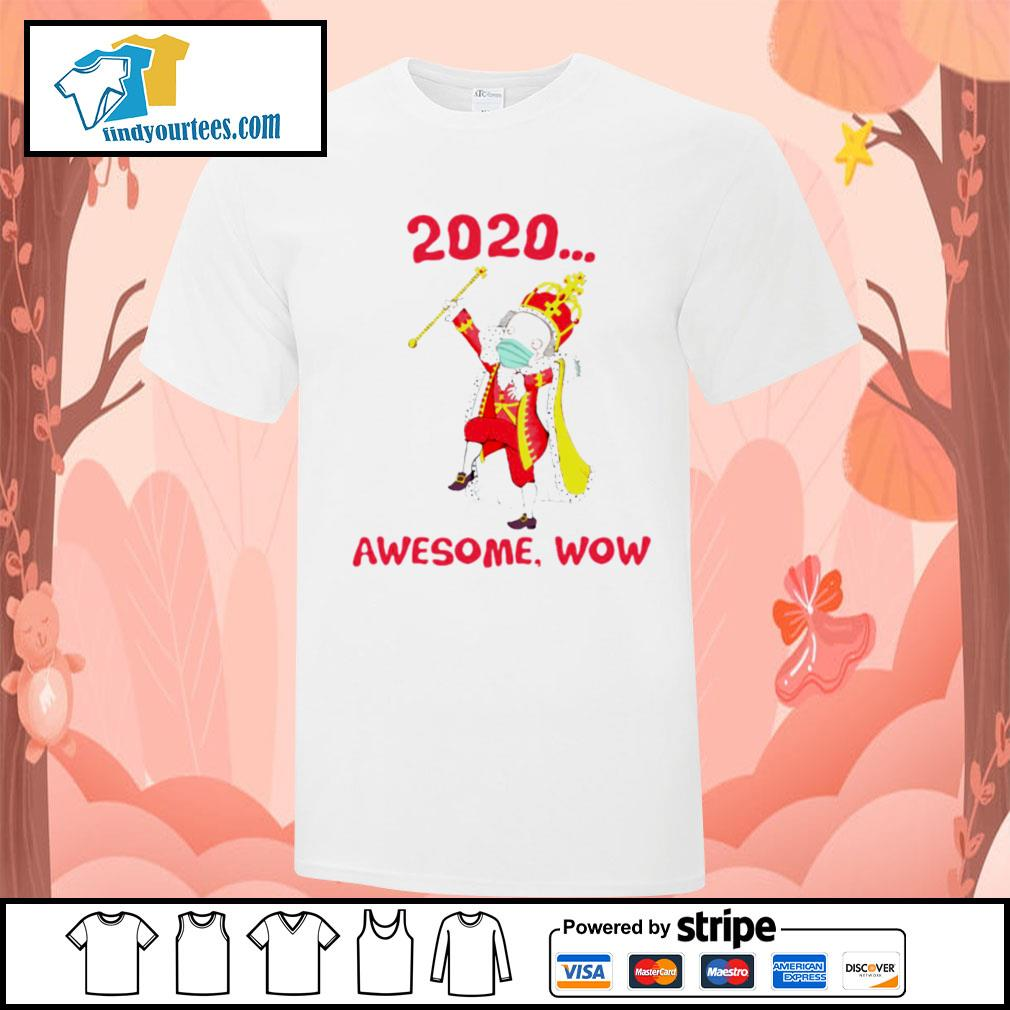 Hamilton George King 2020 awesome wow shirt