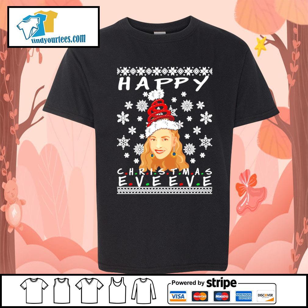 Happy Christmas Eve Eve Friends Phoebe ugly Christmas sweater Kid-T-shirt