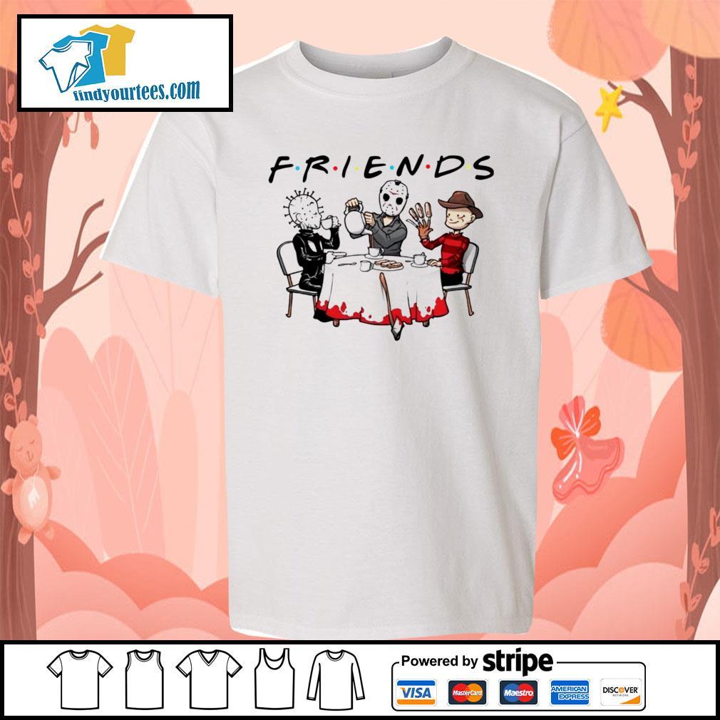 Hellraiser Jason Voorhees Freddy Krueger friends Halloween s Kid-T-shirt