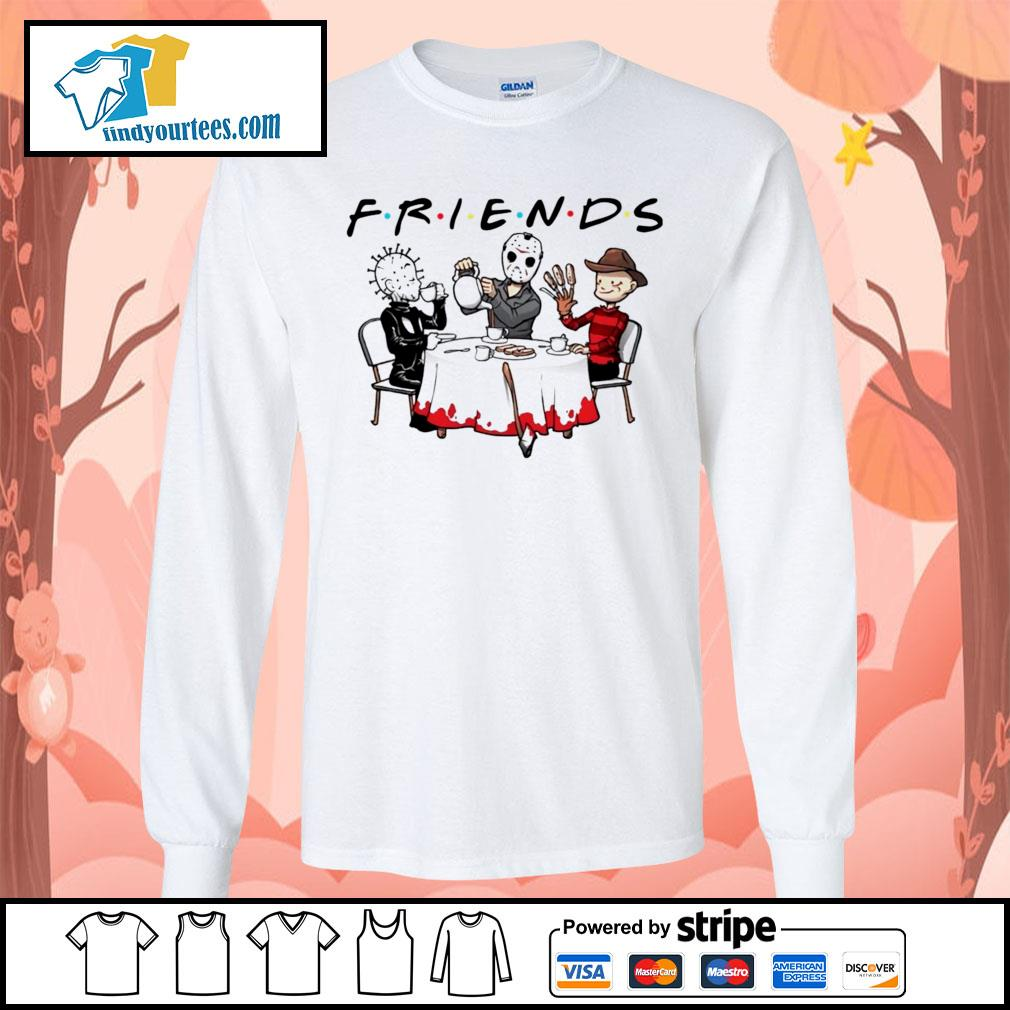 Hellraiser Jason Voorhees Freddy Krueger friends Halloween s Long-Sleeves-Tee