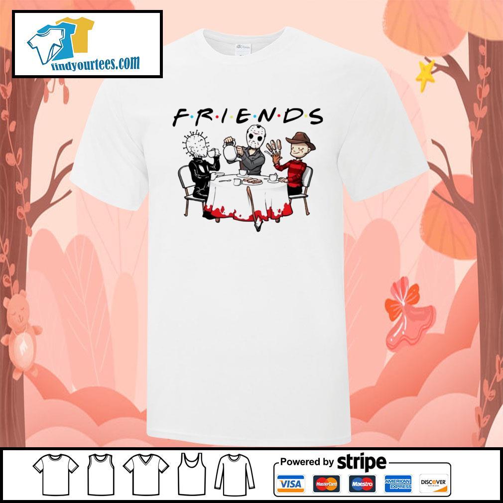 Hellraiser Jason Voorhees Freddy Krueger friends Halloween shirt