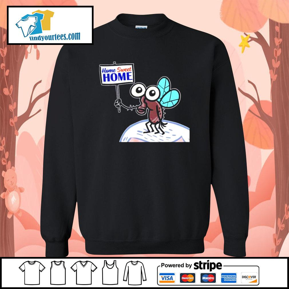 Home sweet home Pencefly Fly Hair truth over flies Biden Harris s Sweater