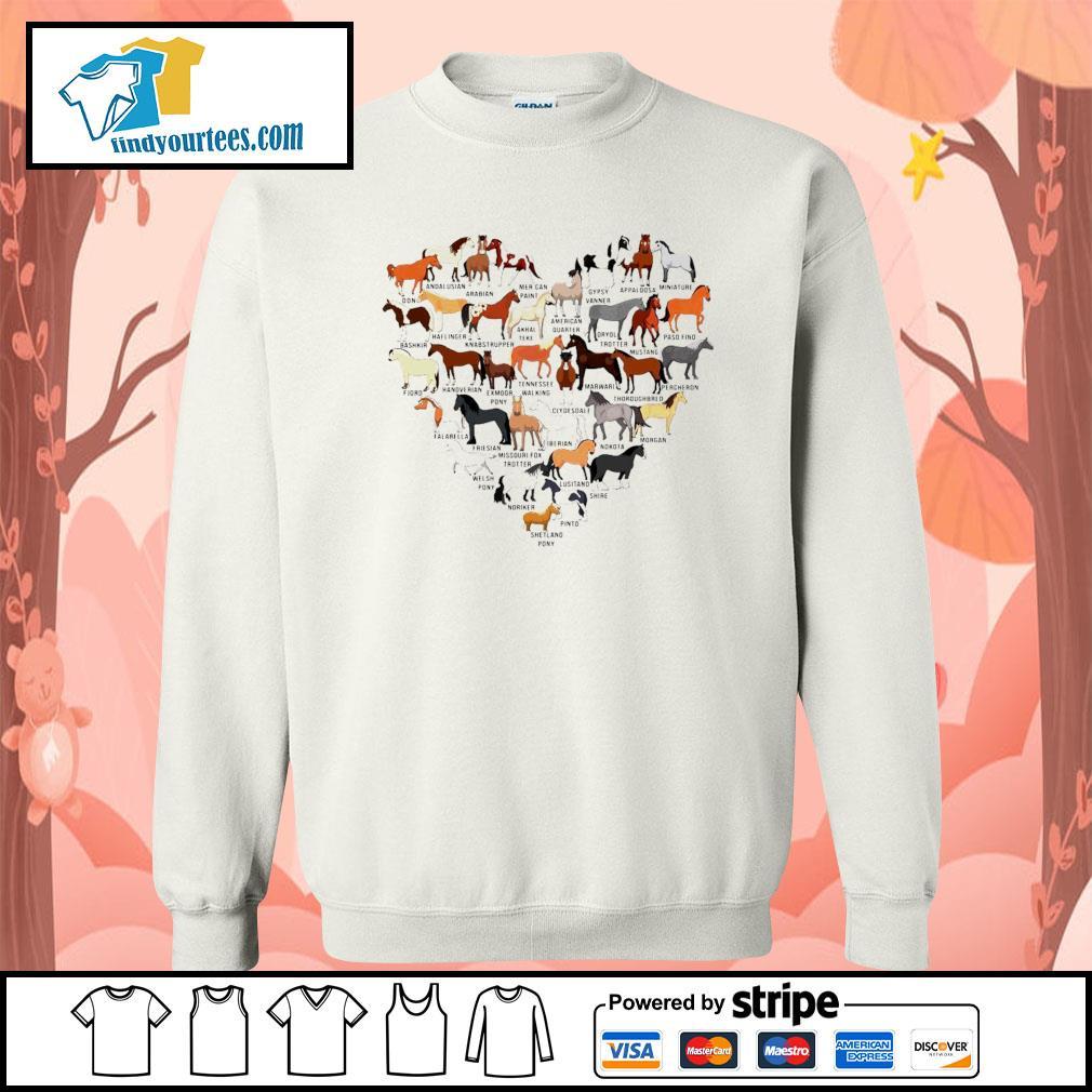 Horse breed of Horses heart s Sweater