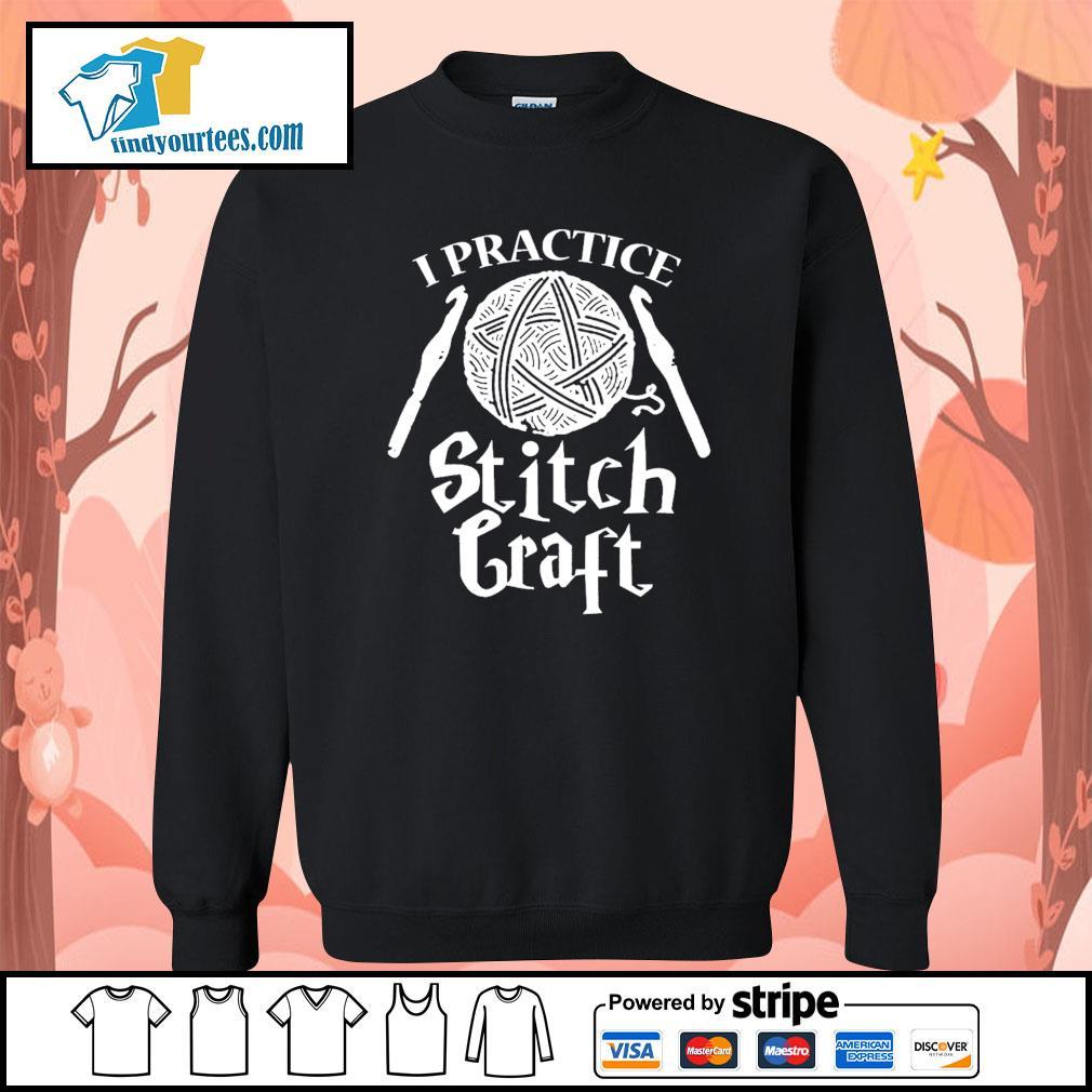 I practice stitch craft s Sweater