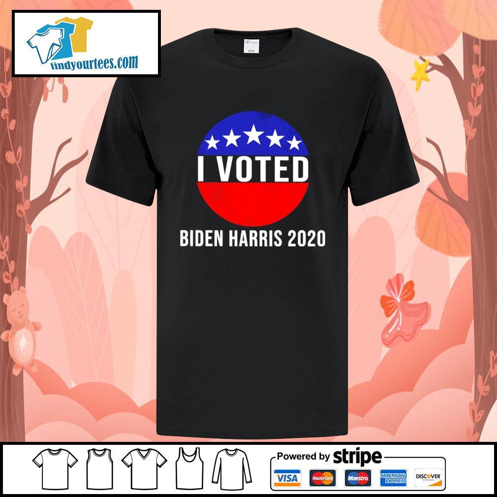 I Voted Biden Harris 2020 shirt