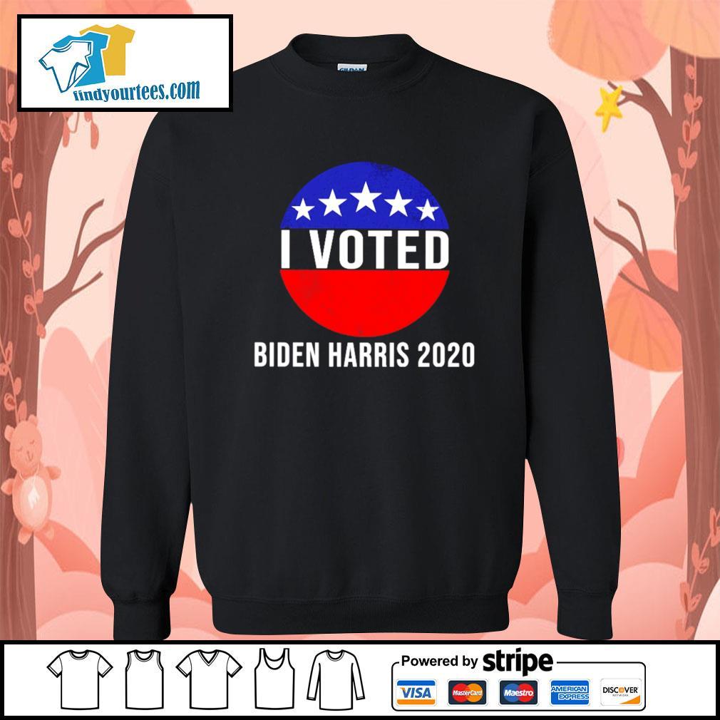I Voted Biden Harris 2020 s Sweater