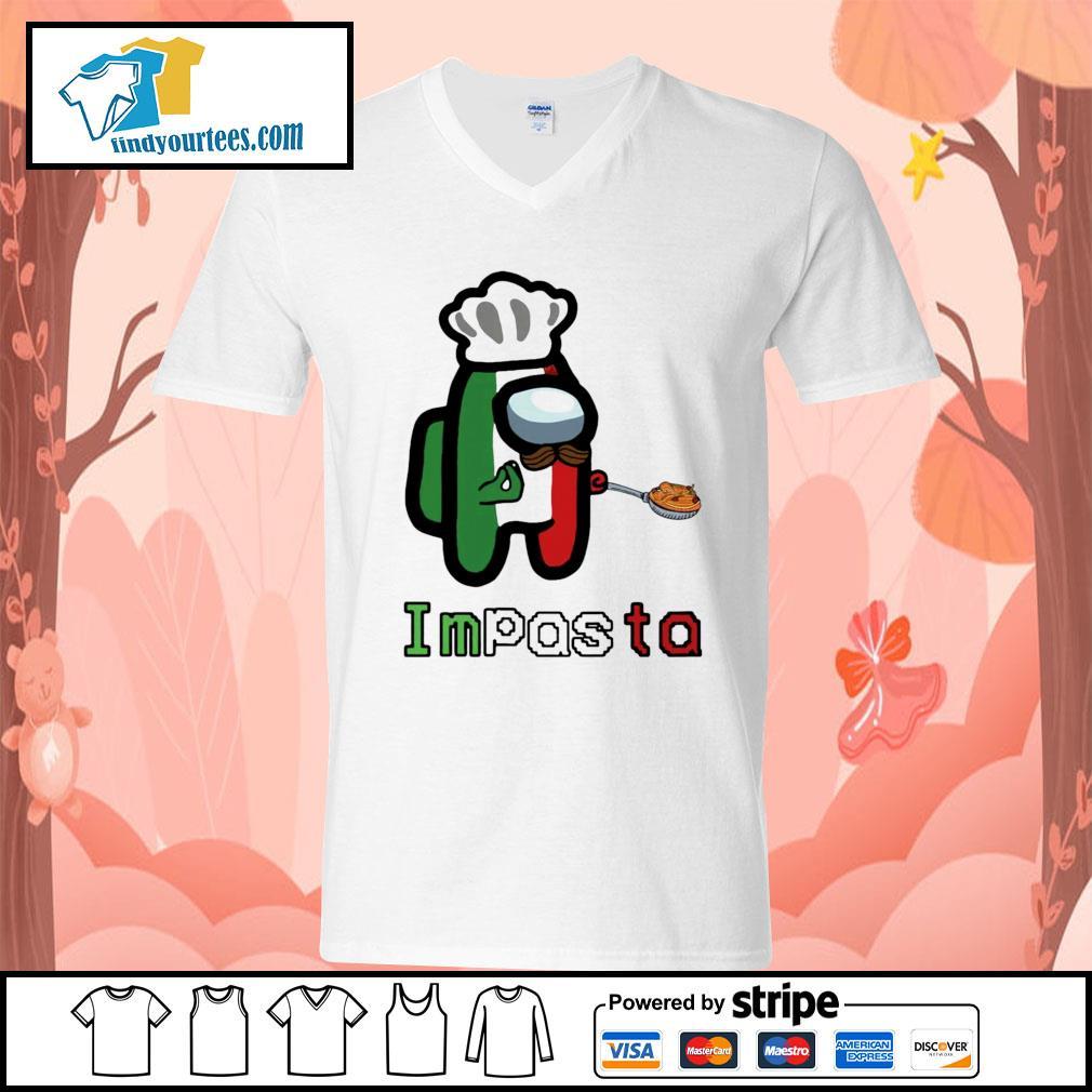 Impasta Impostor s V-neck-T-shirt
