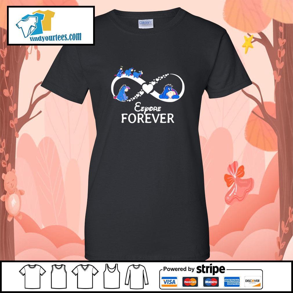 Infinity Eeyore forever s Ladies-Tee