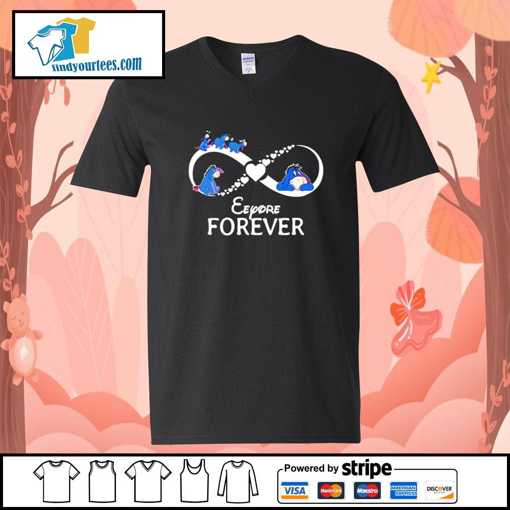 Infinity Eeyore forever s V-neck-T-shirt