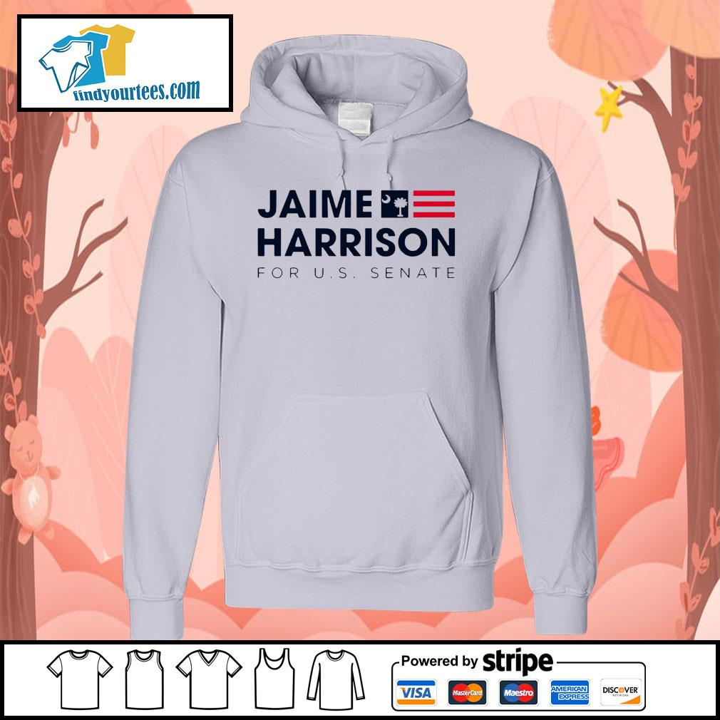 Jaime Harrison for us Senate s Hoodie