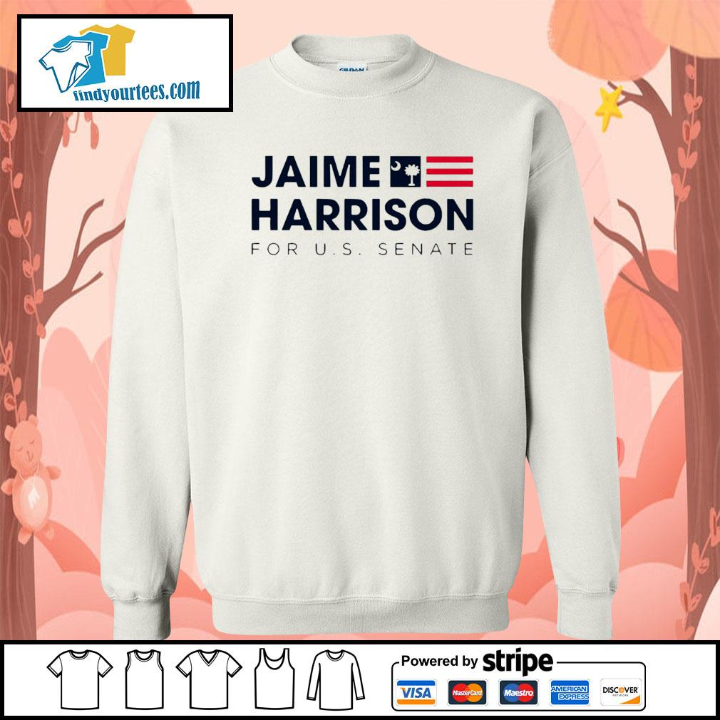 Jaime Harrison for us Senate s Sweater