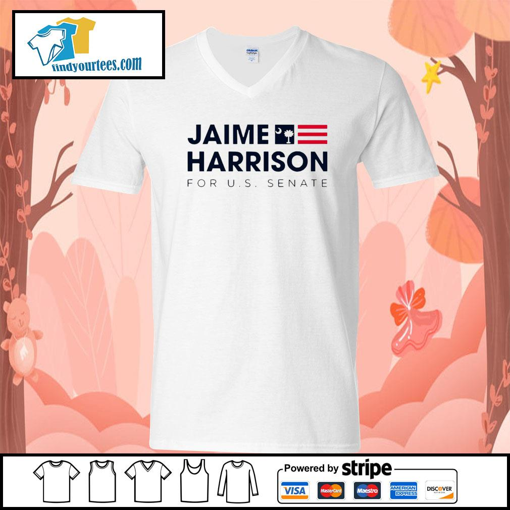 Jaime Harrison for us Senate s V-neck-T-shirt