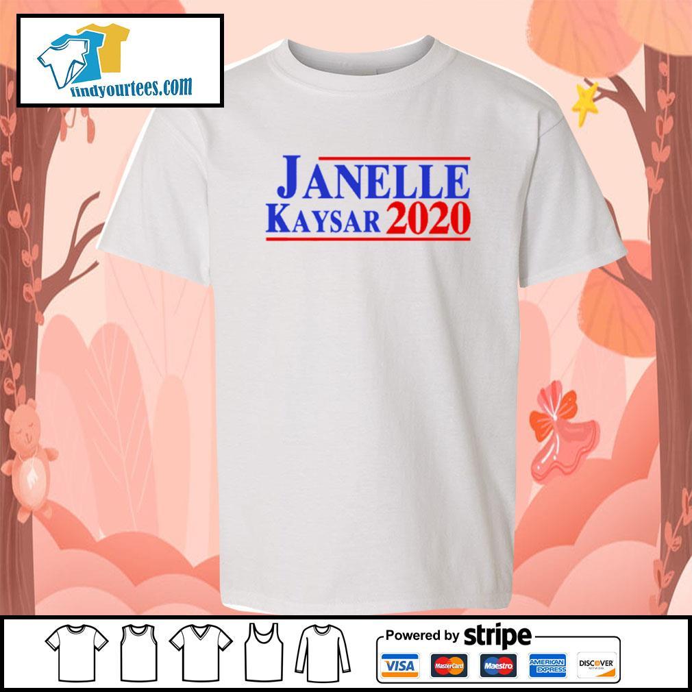 Janelle Kaysar 2020 for president American s Kid-T-shirt