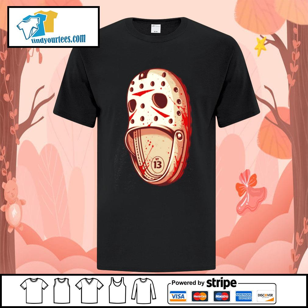 Jason Voorhees Crocs shirt