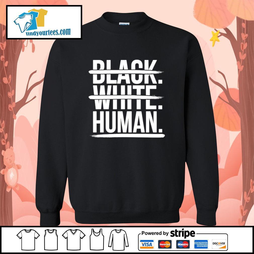 JoelPatrick Black white human s Sweater