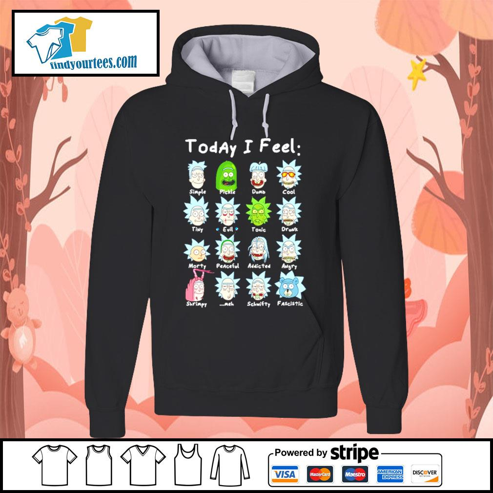 John Rick John Wick Rick and Morty today I feel s Hoodie