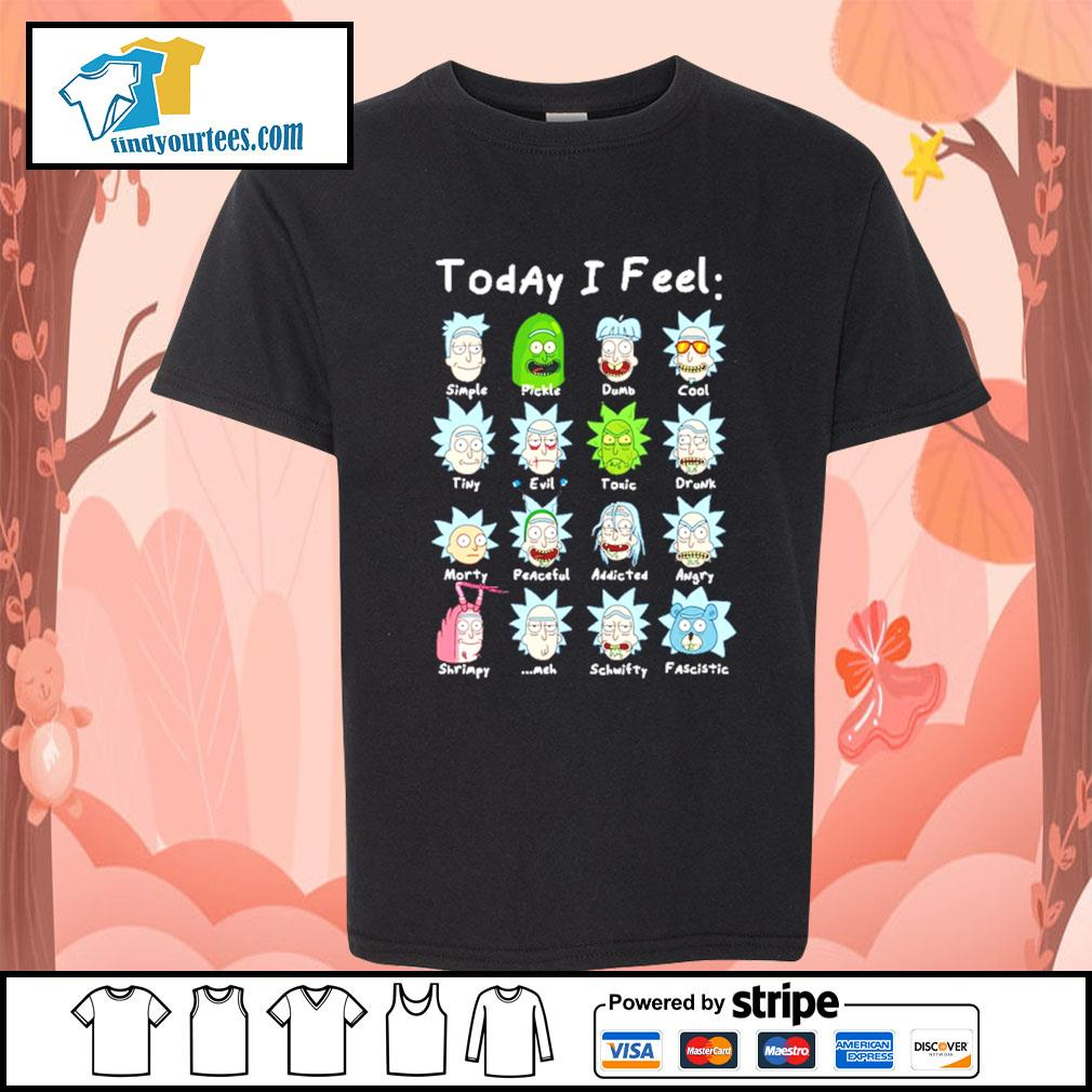 John Rick John Wick Rick and Morty today I feel s Kid-T-shirt