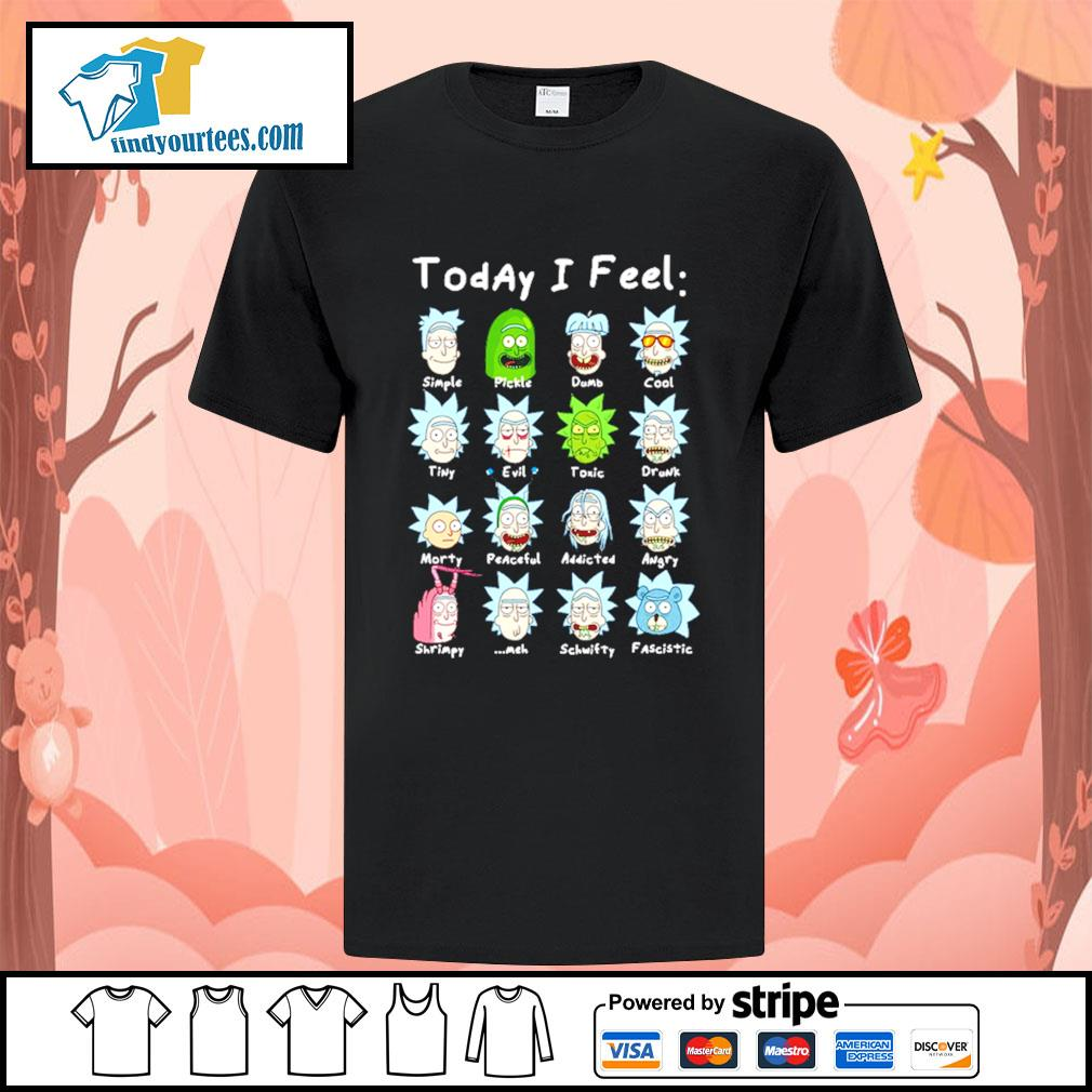 John Rick John Wick Rick and Morty today I feel shirt