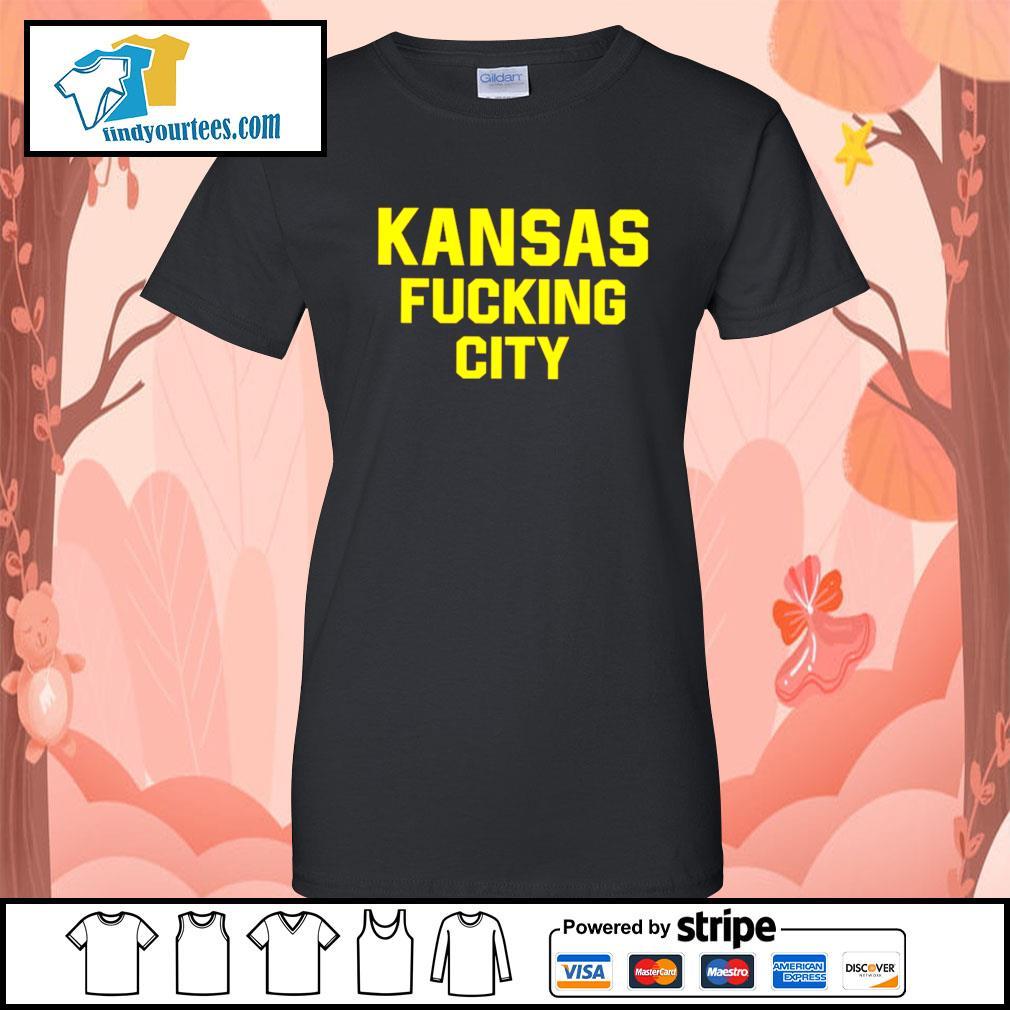 Kansas Fucking City s Ladies-Tee