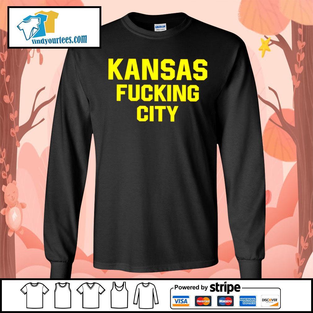 Kansas Fucking City s Long-Sleeves-Tee
