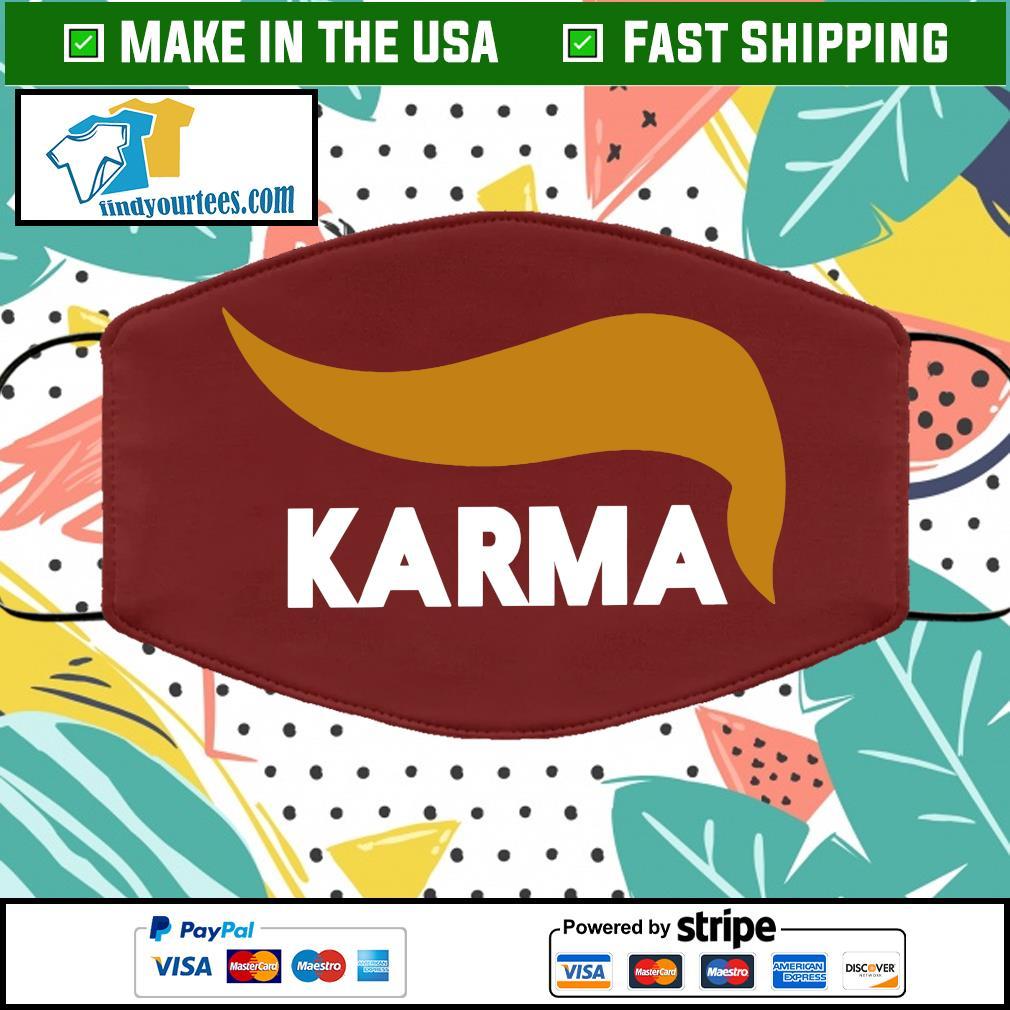 KARMA Cloth Face Mask Washable brown