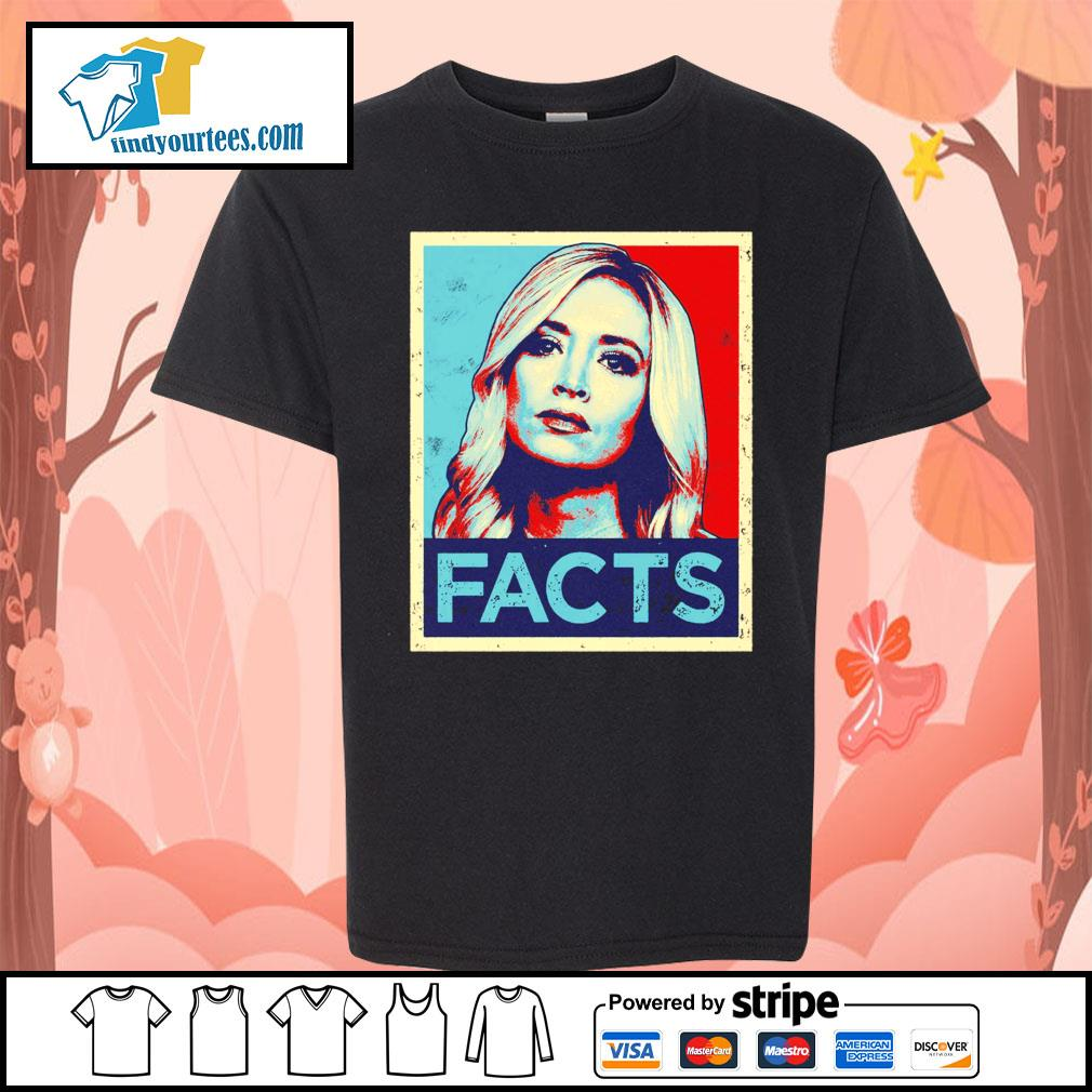 Kayleigh McEnany Facts vintage s Kid-T-shirt