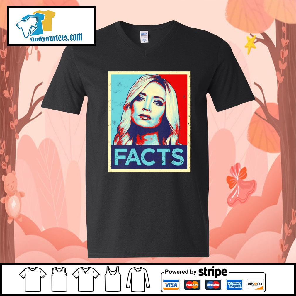 Kayleigh McEnany Facts vintage s V-neck-T-shirt