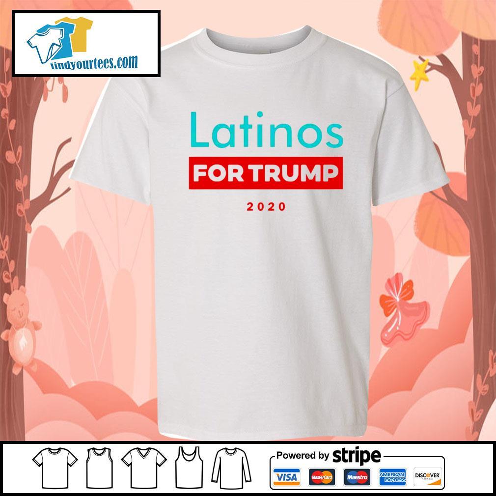Latinos For Donald Trump s Kid-T-shirt