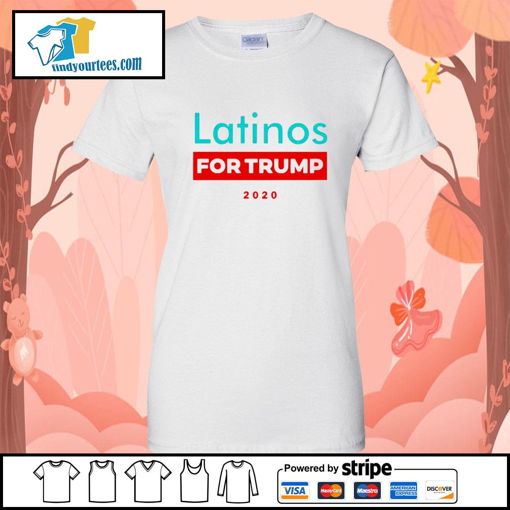 Latinos For Donald Trump s Ladies-Tee