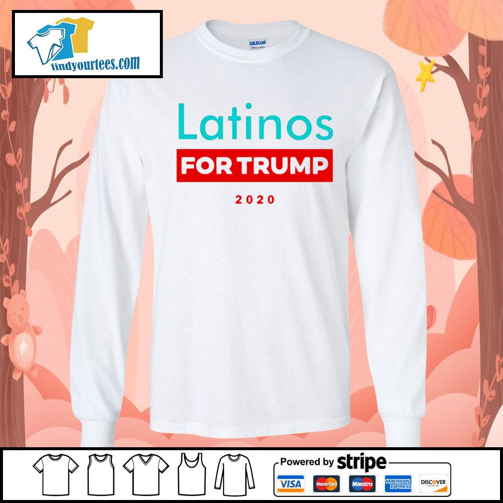 Latinos For Donald Trump s Long-Sleeves-Tee