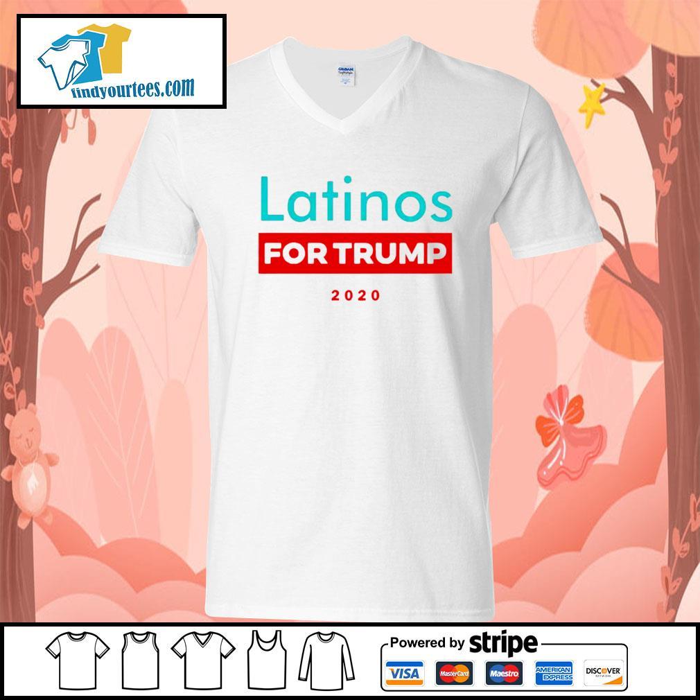 Latinos For Donald Trump s V-neck-T-shirt