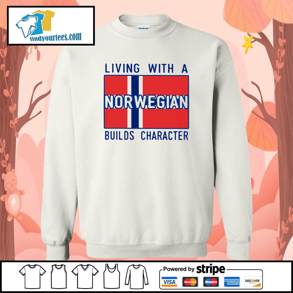 Living with Norwegian Builds character s Sweater