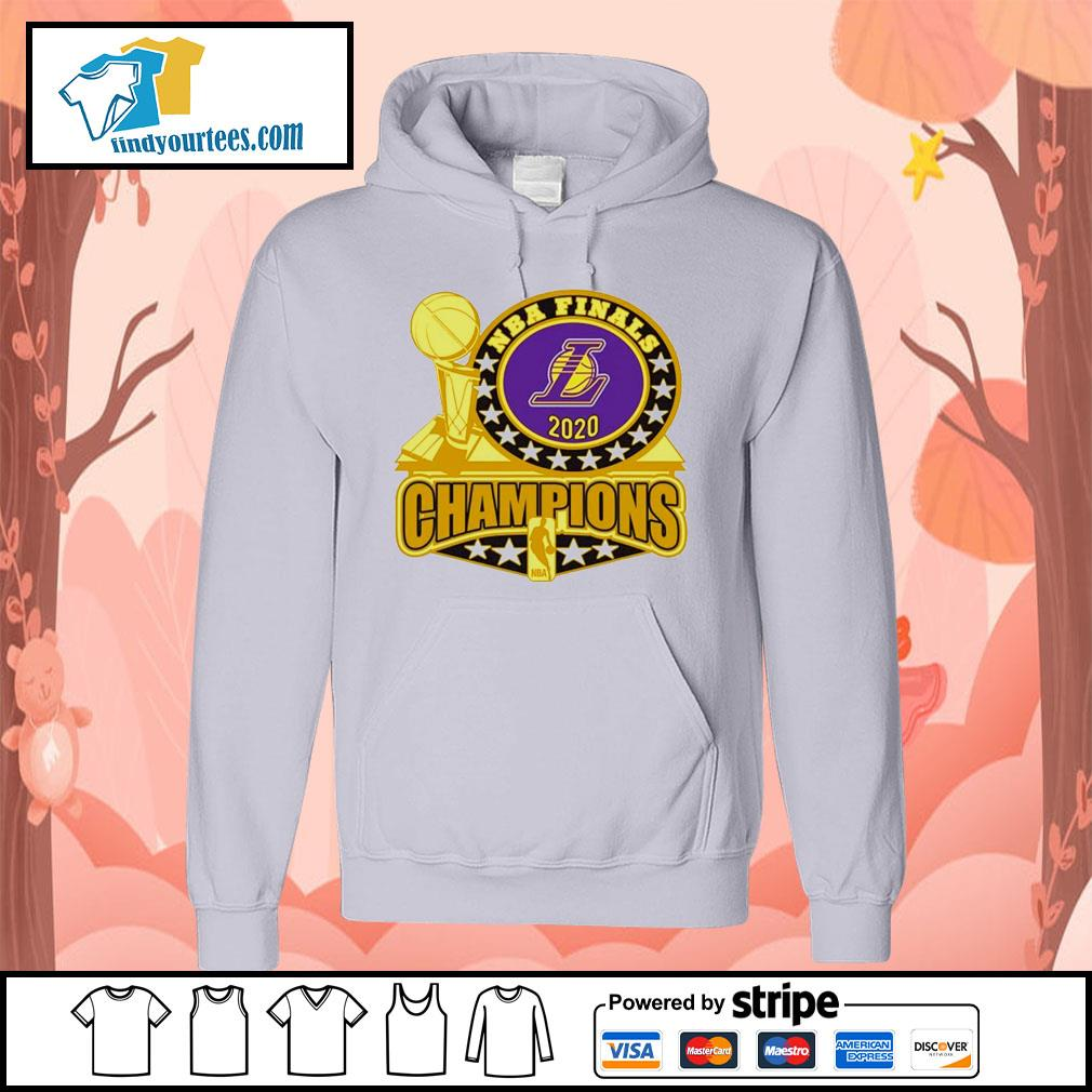 Los Angeles Lakers 2020 NBA Champions Trophy s Hoodie